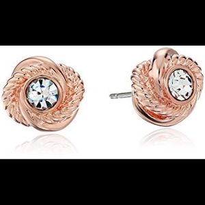 BEST OFFER Kate Spade Knotted Crystal Earrings